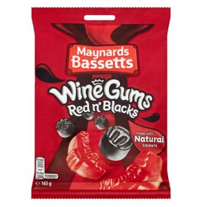 Maynards Wine Gums Red and Black