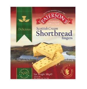 Paterson's Scottish Cream Shortbread Fingers