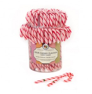 Sour Cherry Candy Cane - Original Candy Co