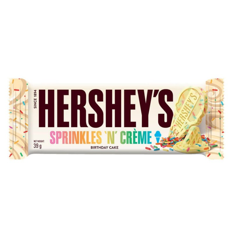 Hershey's Cookies and Sprinkles
