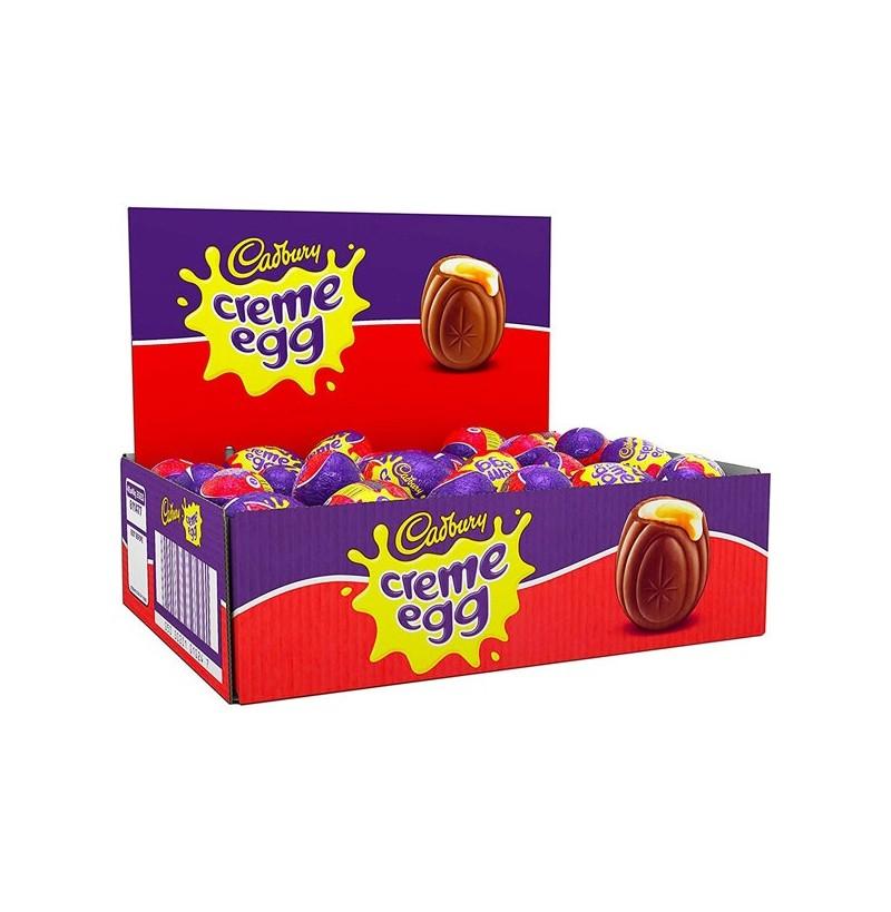 Box of creme eggs France