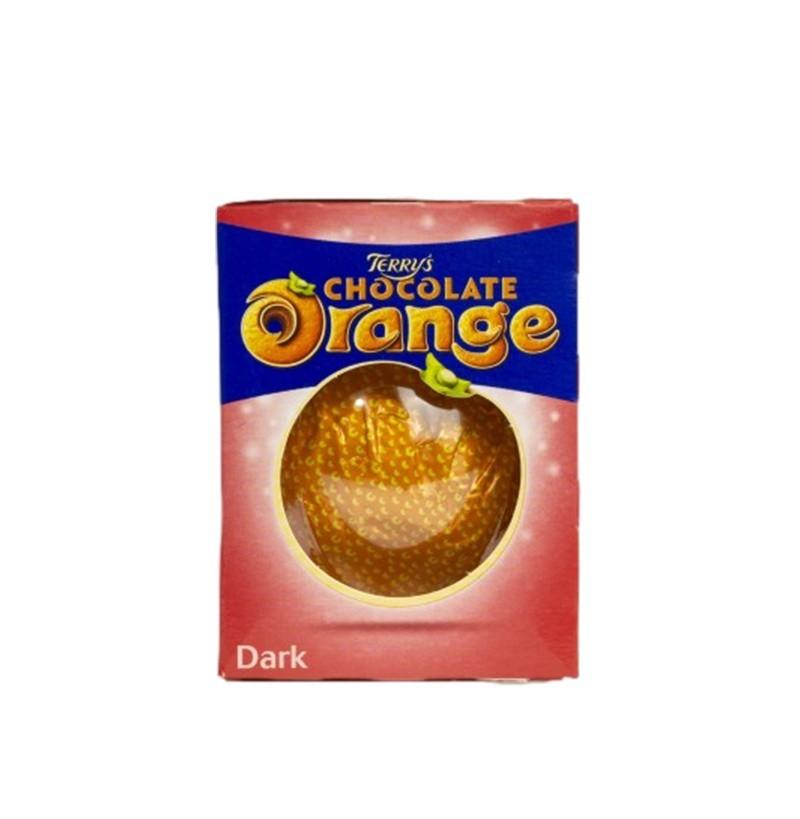 Orange en chocolat au lait