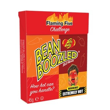 Jelly Belly au piment : le challenge hot hot hot