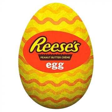 Un œuf au chocolat version Reese's peanut butter. OMG ! . . . . . . #reeses #easter #reeseseggs #peanutbuttereggs #beurredecacahuetes #qkconfiserie #nantes #tours #rennes #angers